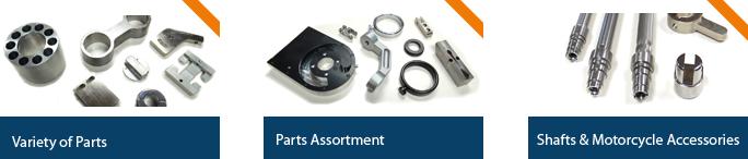 CNC Parts Examples